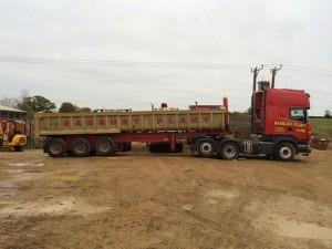 artic bulk trailer
